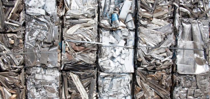 Baled Aluminum
